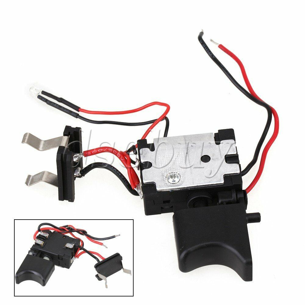 electric drill dustproof speed push button trigger switch 16a dc 7 2 24v ebay