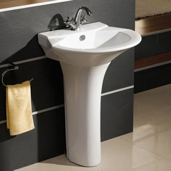 ebay bathroom sinks ceramic bathroom pedestal basin sink ebay 12761