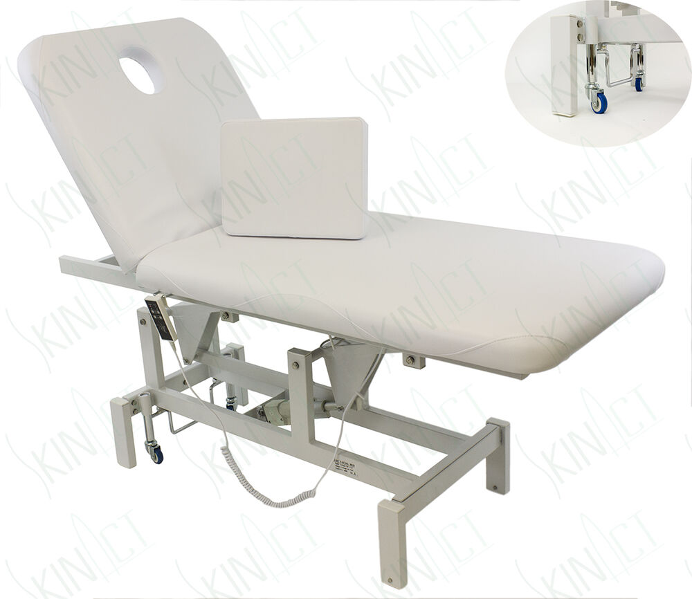 Opal electric salon facial massage waxing treatment table for Wax chair salon
