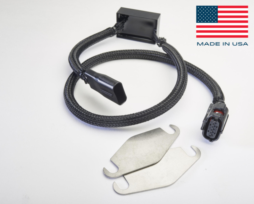 s l1000 toyota 5 7l air induction pump bypass kit & exhaust port plates Induction Heating Wire at reclaimingppi.co