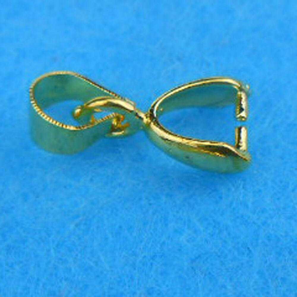 wholesale 20p 18k gold plated pendant jewelry findings ear