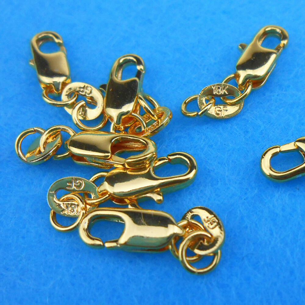 Wholesale 10p jewelry connector 18k yellow gold filled for Gold filled jewelry