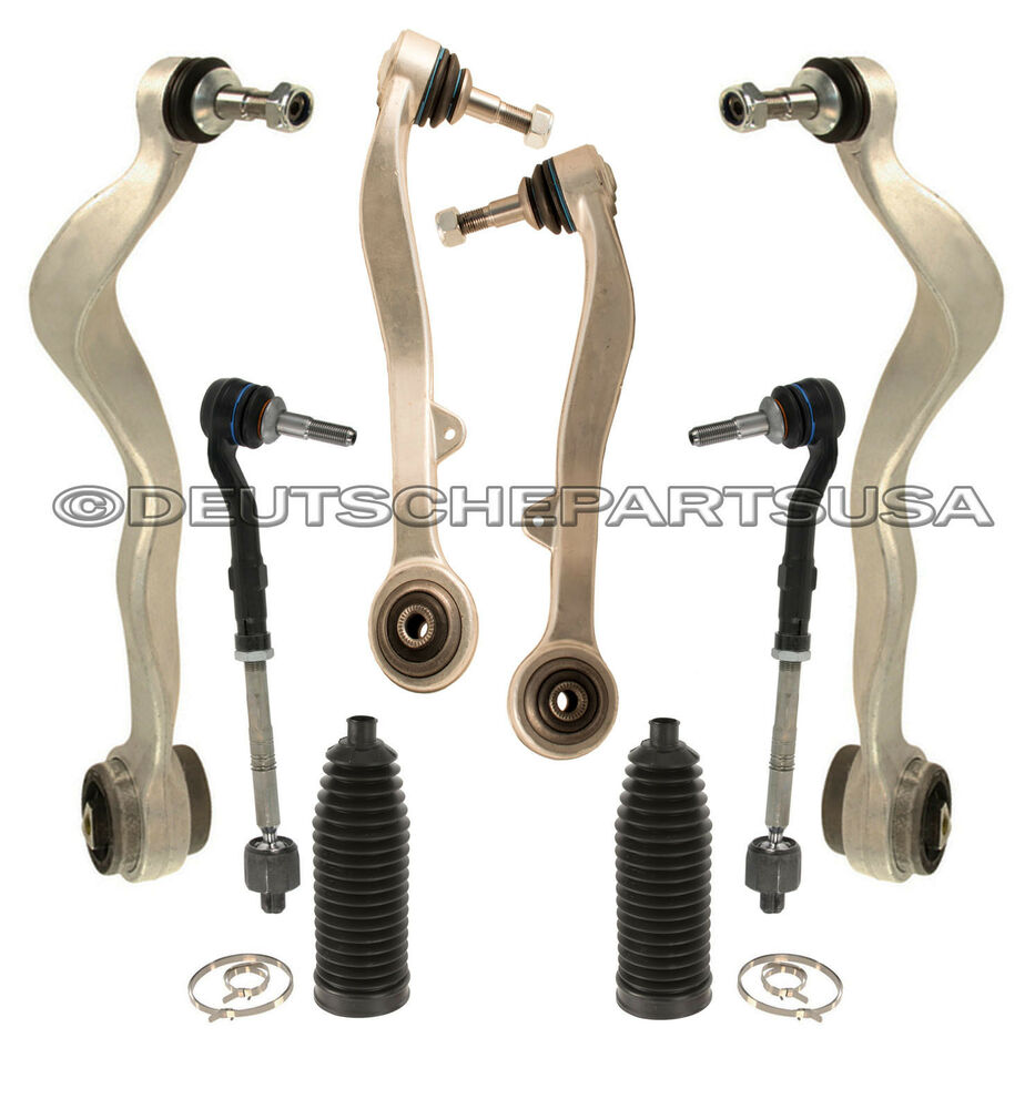 8 Piece Suspension Control Arm Tie Rod Kit Front For 92 96: FRONT CONTROL THRUST Arm ARMS BALL JOINT JOINTS Tie Rods