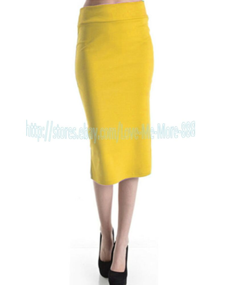 tight fitted wear to work casual maxi midi pencil