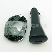 USB Car charger and 1M Sync Data Charger Cable for Samsung i9300 Galaxy S3