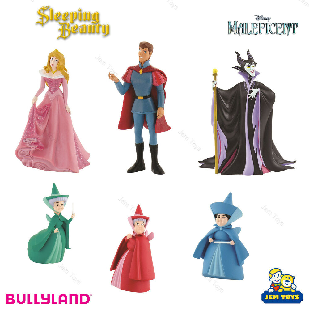 Disney Princess Sleeping Beauty Figure Figurine Toy Cake