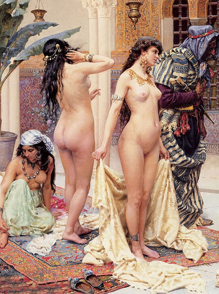 naked women slaves with arabs