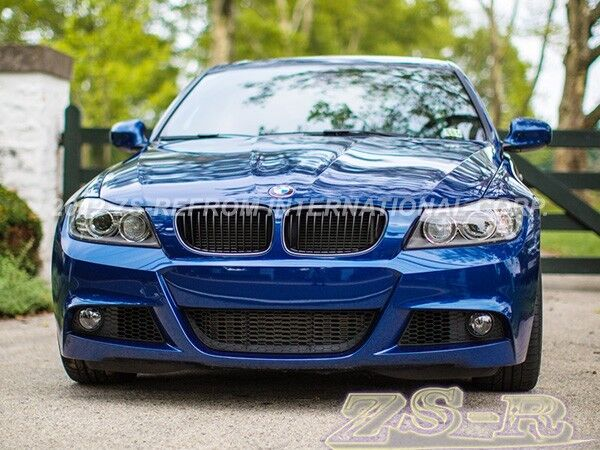 Jet Black Front Grille Kit For 2009-2011 BMW E90 LCI 318i ...
