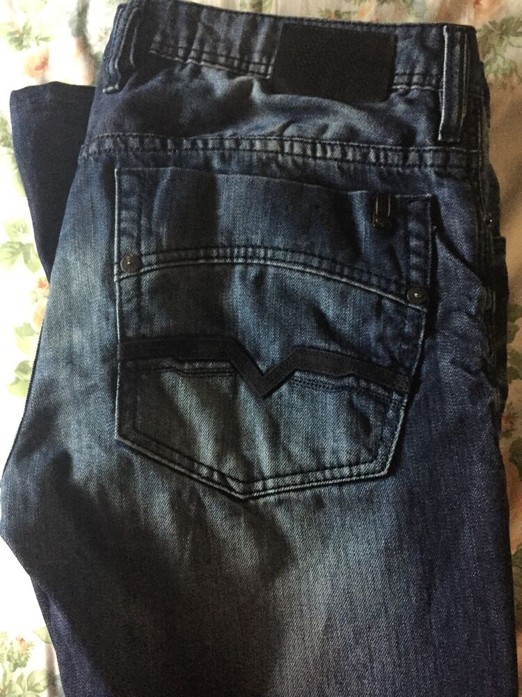 Mens Stretch Jeans Bootcut