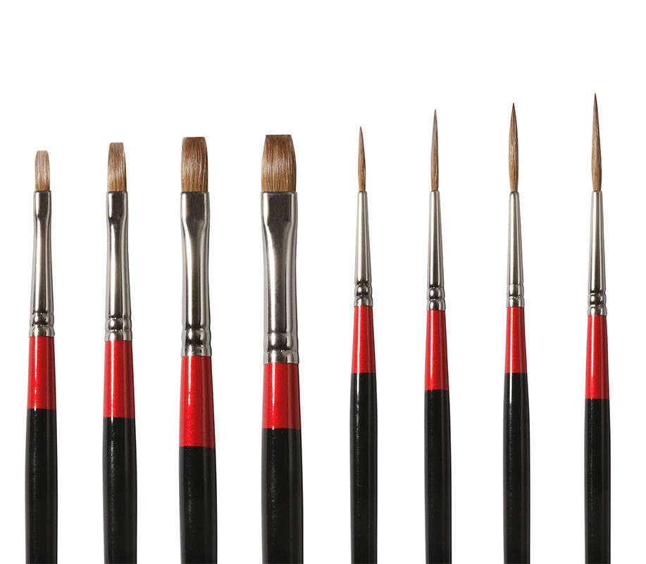 Daler Rowney Oil Paint Brushes