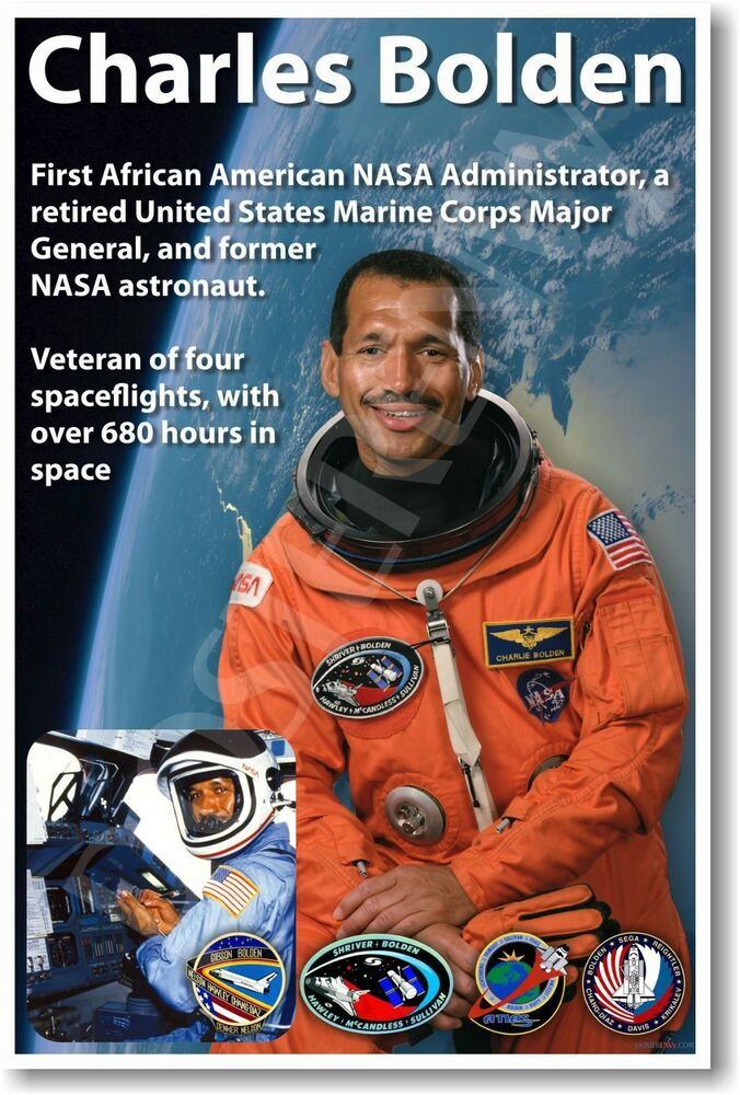Charles Bolden - NEW NASA African American Astronaut Space ...