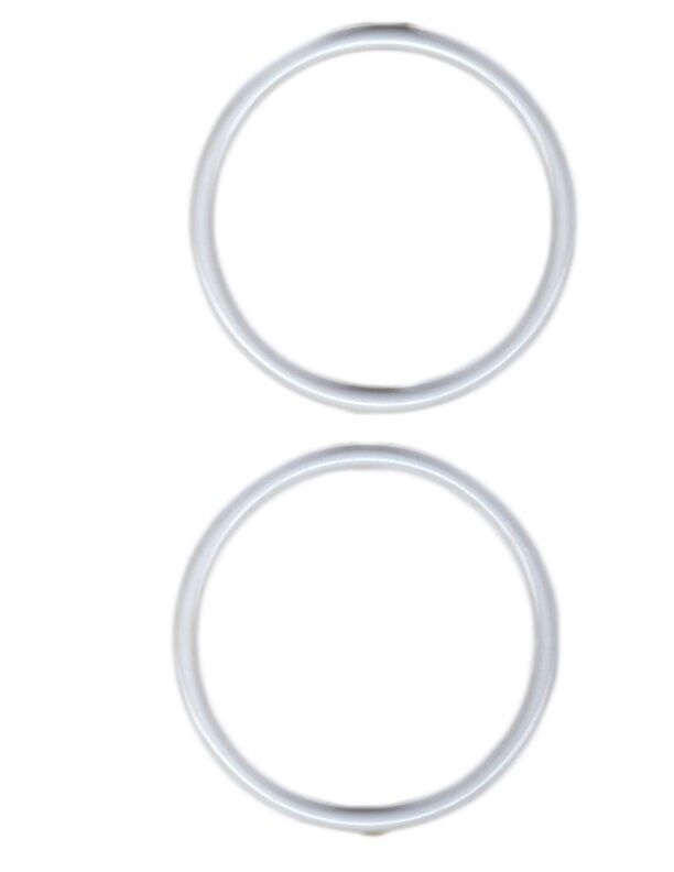 6 white plastic rings decorations arts  u0026 crafts accessory