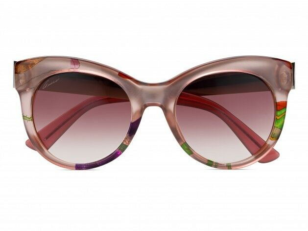 Gucci Sunglasses GG3739 2F616 Pink Floral Frame Pink ...