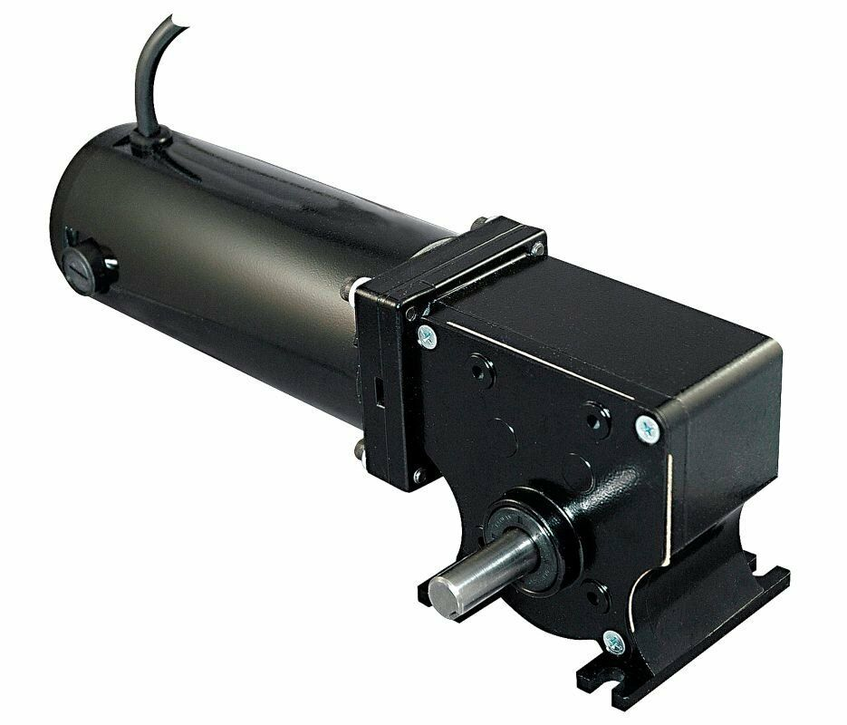 dayton 12 volt dc right angle gear motor 1 8 hp 54 rpm
