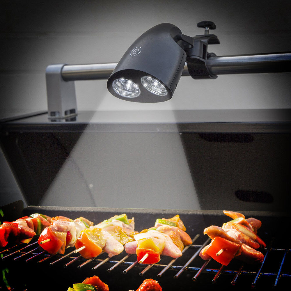 10 Led Ultra Bright Barbecue Grill Light Bar Mount Bbq