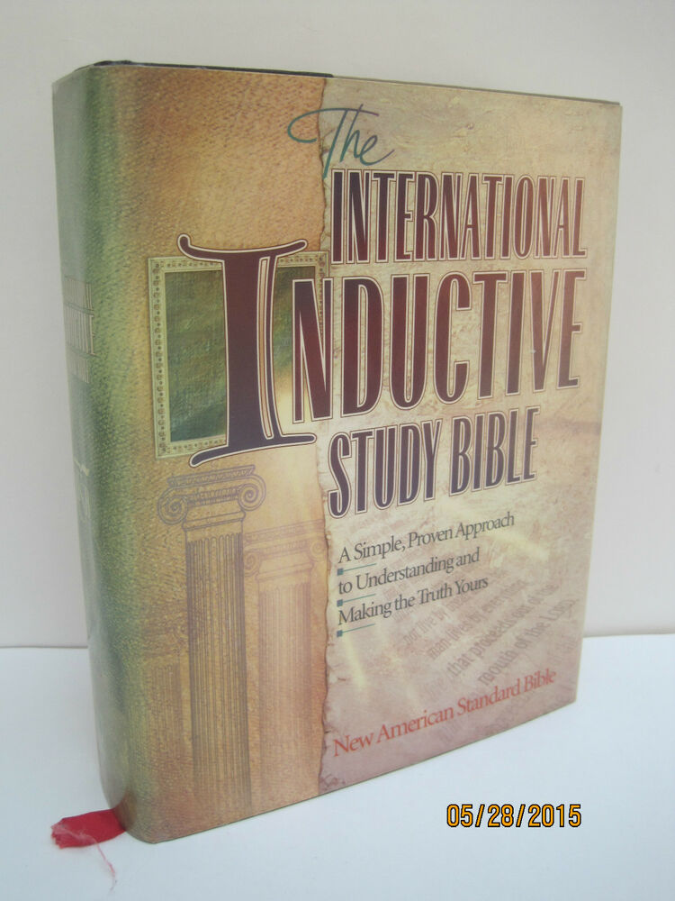 The New Inductive Study Bible (ESV)Harvest House