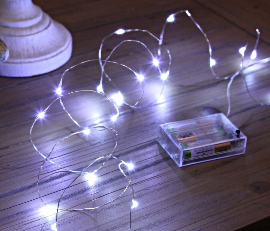 Micro 20 Led Fairy Party Bedroom Child Room Mood Rice