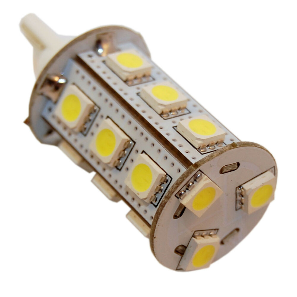 Replace Boat Lights With Led: T10 Wedge Base 18 SMD LED Bulb Replacement For 194, 921