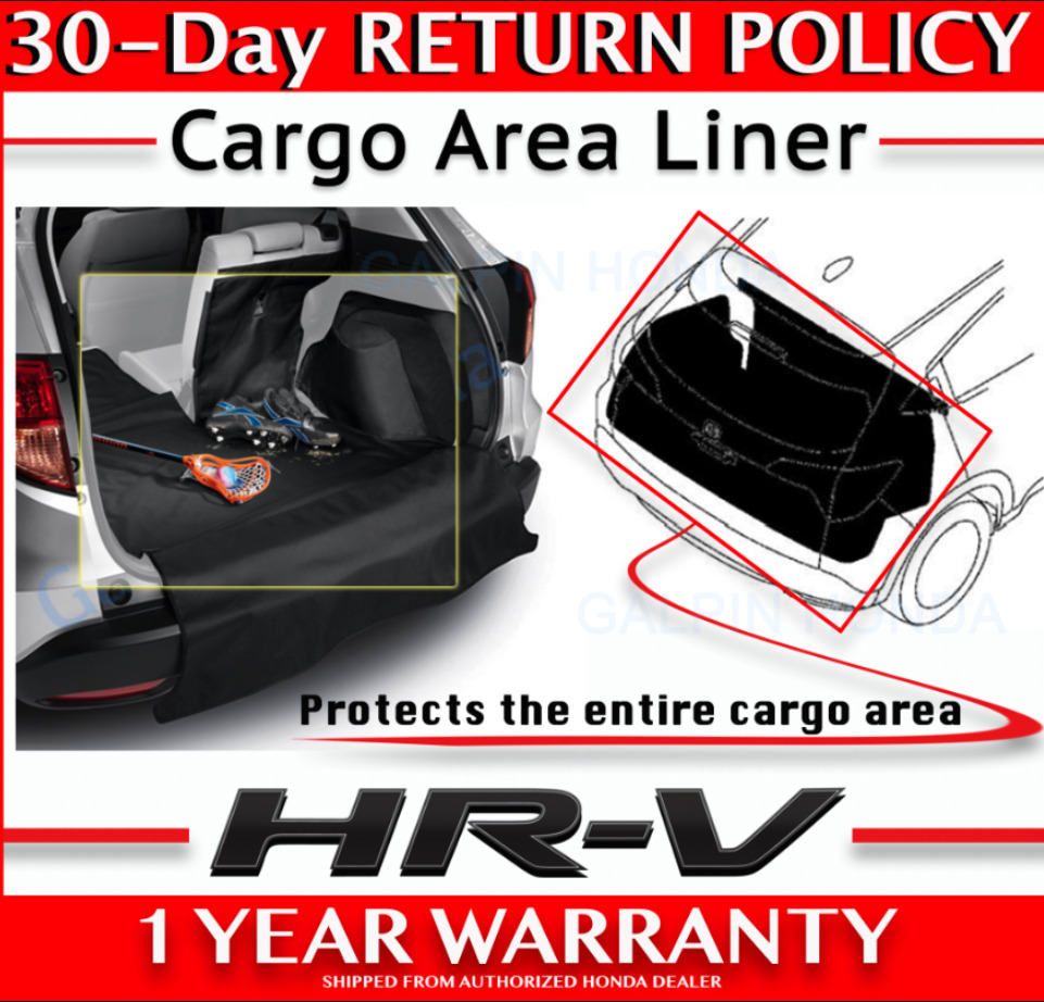Genuine oem honda hr v cargo liner 2016 hrv ebay for Honda hrv cargo space