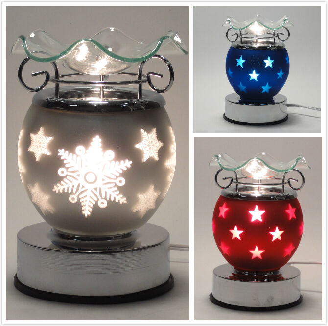 Electric Wax Tart Burners ~ Electric touch lamp fragrance oil and tart wax warmer