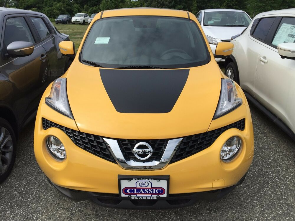 Nissan Juke 2015 Front Hood Decal Vinyl Graphic Cover