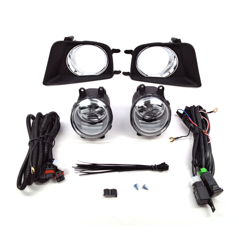 Toyota Tacoma Fog Light Wiring Harness Diagrams Hitch Bumper Chrome Lights W Trailer Interior Parts