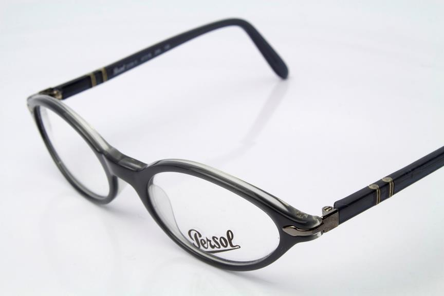 New Persol 2596-V Eyeglasses Frames Grey Clear 240 ...