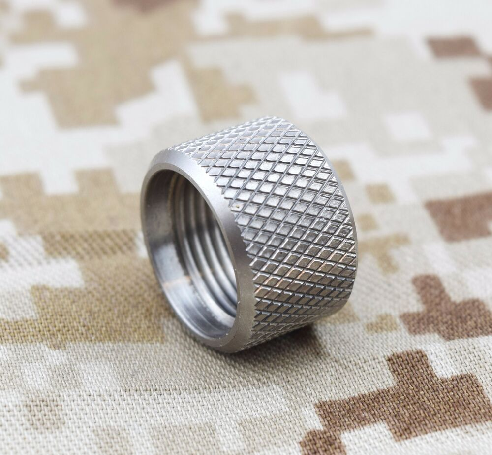Stainless thread cap protector mm usa made
