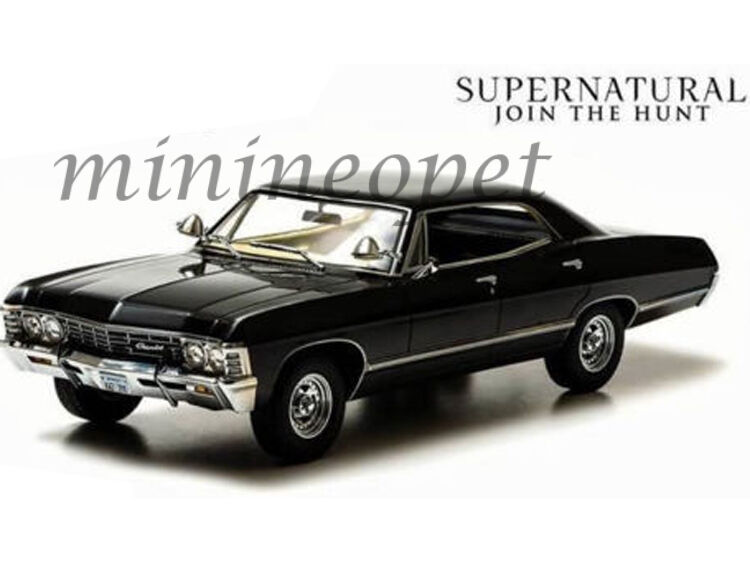 greenlight 19001 supernatural 1967 67 chevrolet impala. Black Bedroom Furniture Sets. Home Design Ideas