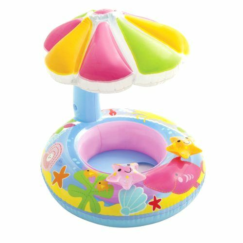 Toddler Water Ring With Sun Shade