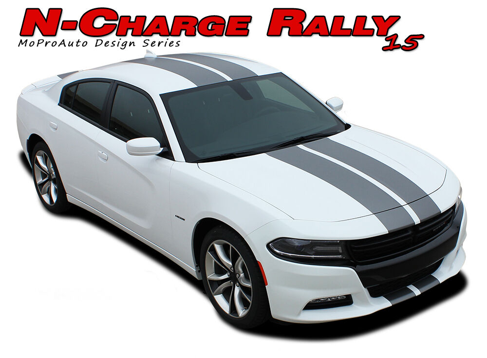 2015-2018 Dodge Charger Complete Rally Racing Stripes ...