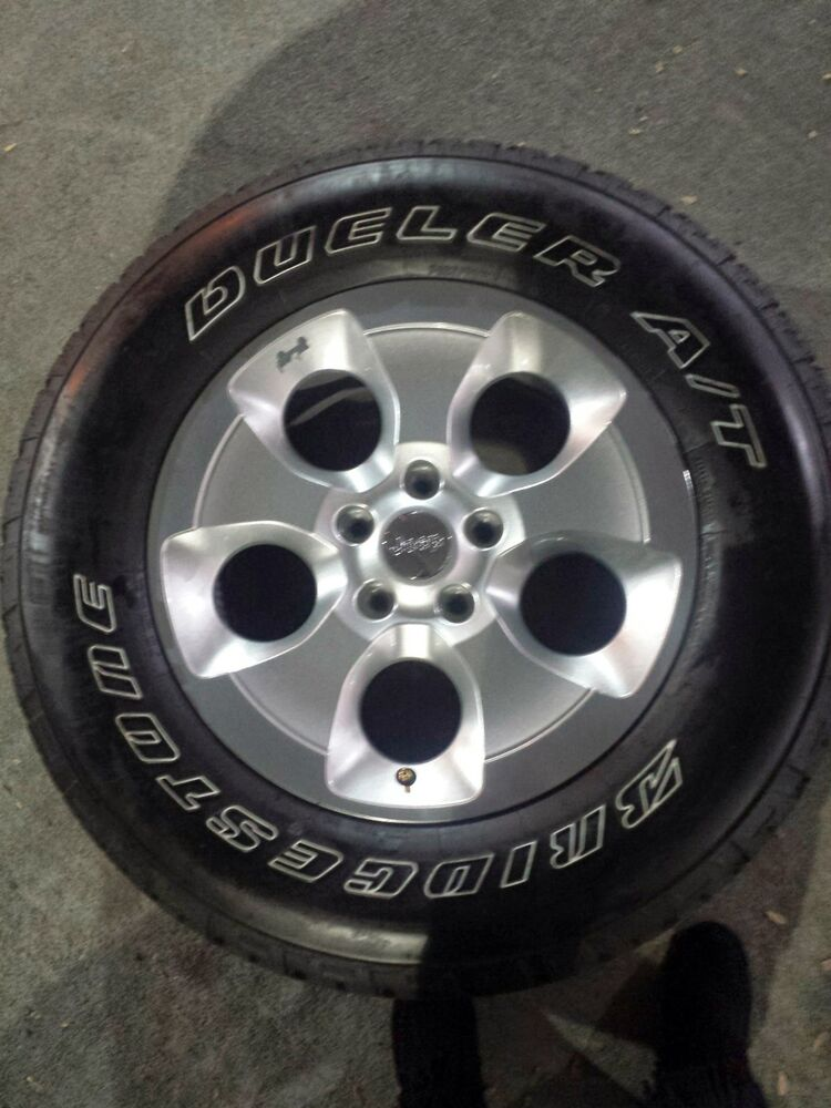 Jeep Wrangler Rims And Tire Packages >> BRAND NEW 4x4 Jeep Wrangler Alloy Premium Rims and Tires ...