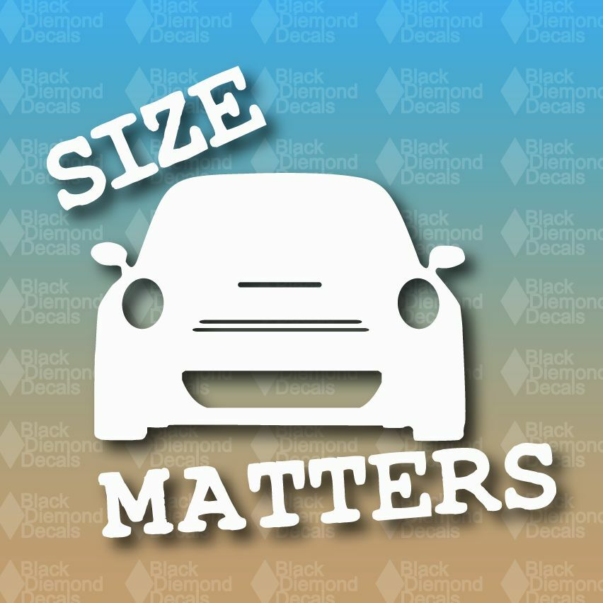 Funny Quotes About Size Matters: Size Matters Mini Cooper S Actual Size Funny Euro 5