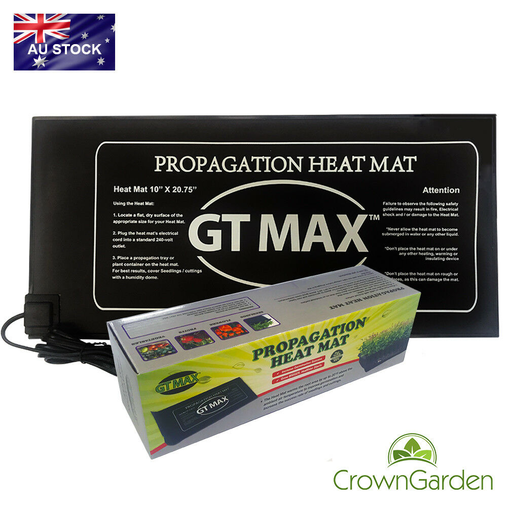 Gt Propagation Seedling Heat Mat 525mm X 250mm Cloning