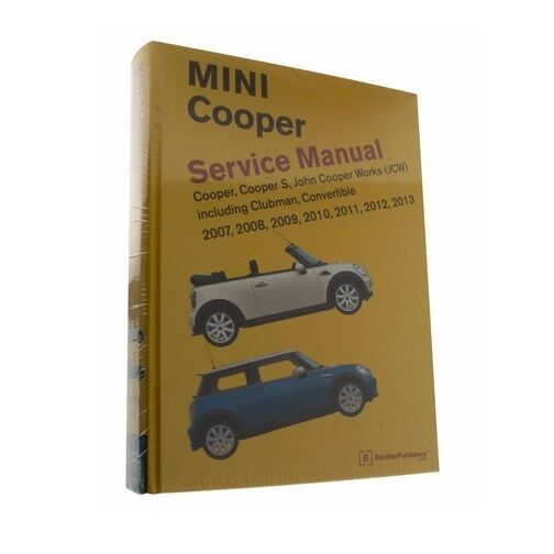 Bentley Diagram Book Repair Guide Service Manual For Mini