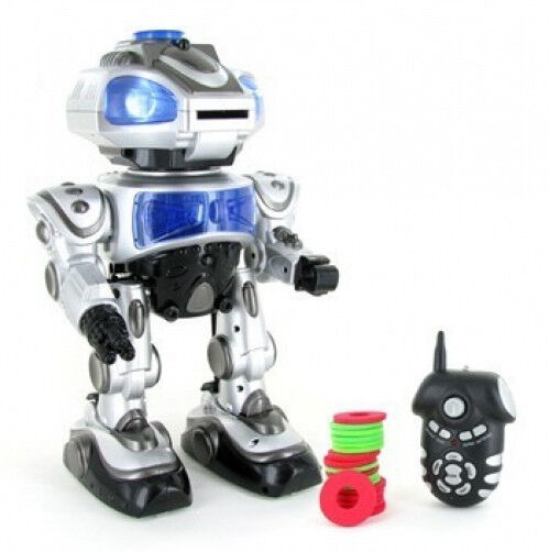 RC Toy Robokid Remote Control Dancing Robot w/ RC Missile ...