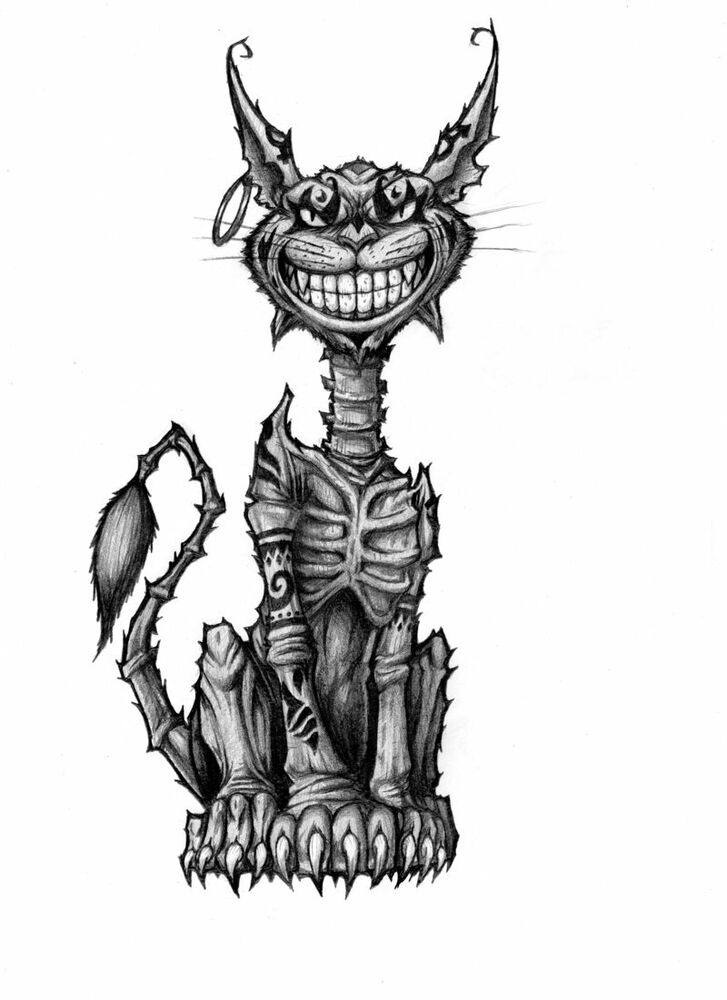 American Mcgee S Cheshire Car Drawing