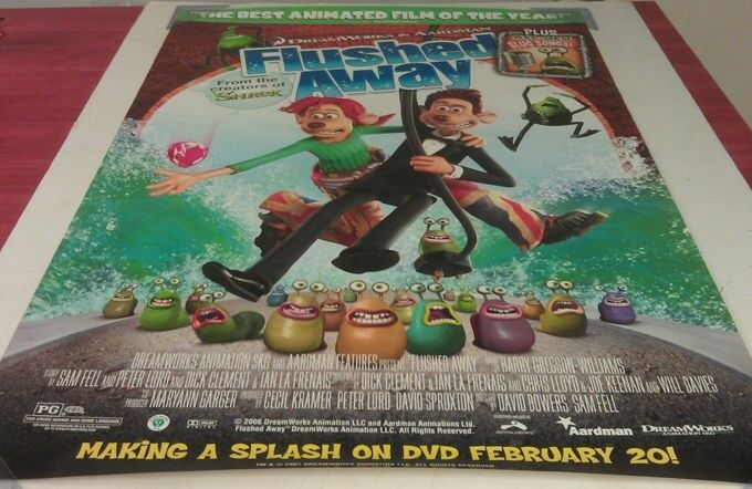 Movie summray of flushed away