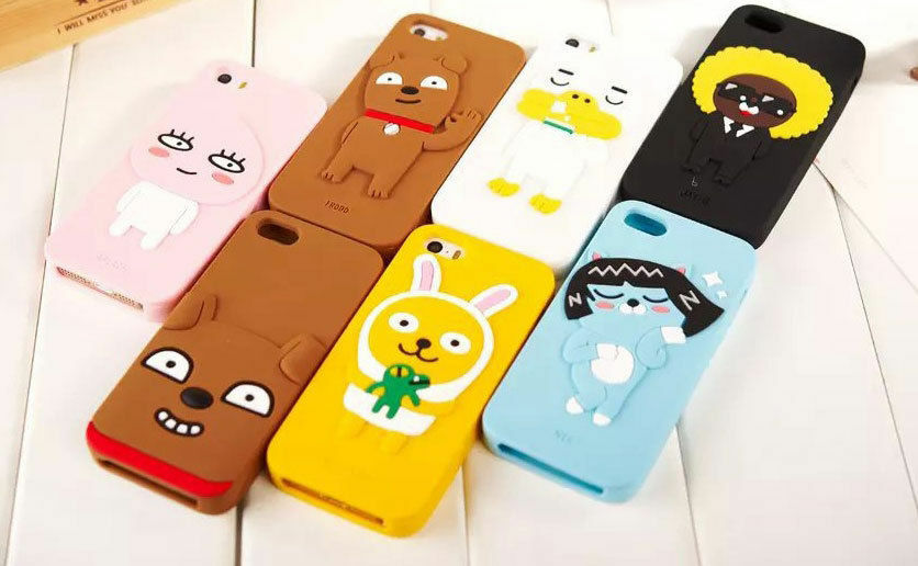 Kakao Talk Friends Iphone 5 6 6 Plus Cell Phone Silicone