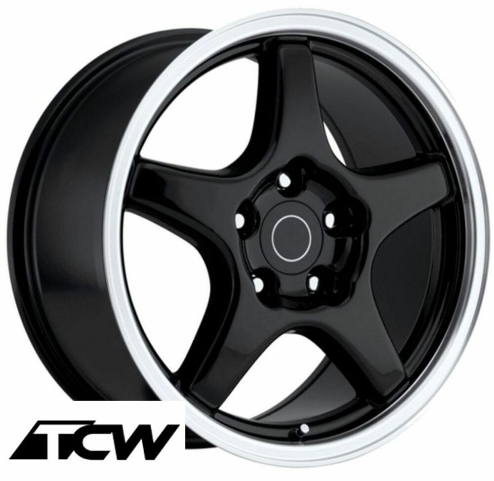 17 Quot 17x9 5 Quot Inch Corvette C4 Zr1 Oe Replica Gloss Black