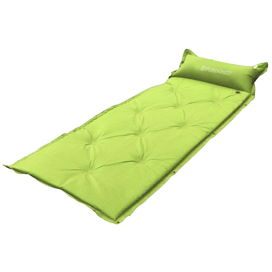Air Sleeping Bag : New inflatable mattress air mat for sleeping bag tent pad