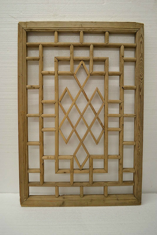 Chinese Antique Wood Carving Panel Window Shutter Wall Art Home Decor De03 03 Ebay