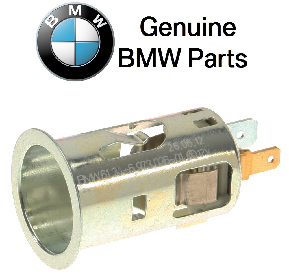 Bmw E36 E46 E60 E61 328i 530i M6 Cigarette Lighter Socket