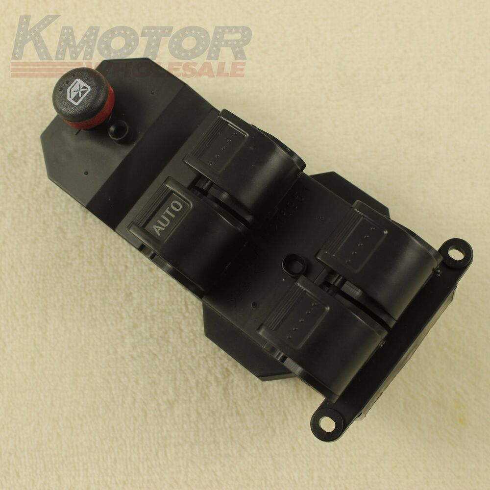 Electric power window master switch for 2001 2005 honda for 2001 honda civic power window motor