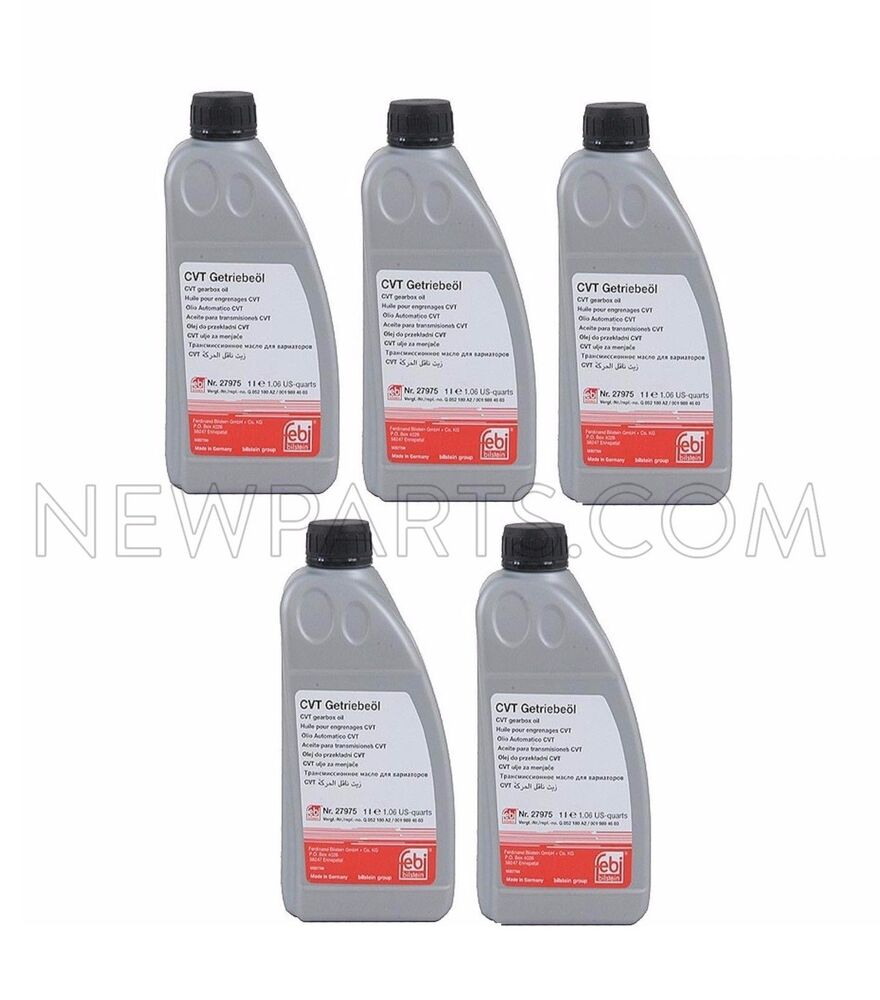 5 Liters Febi Automatic CVT Transmission Oil Fluid For