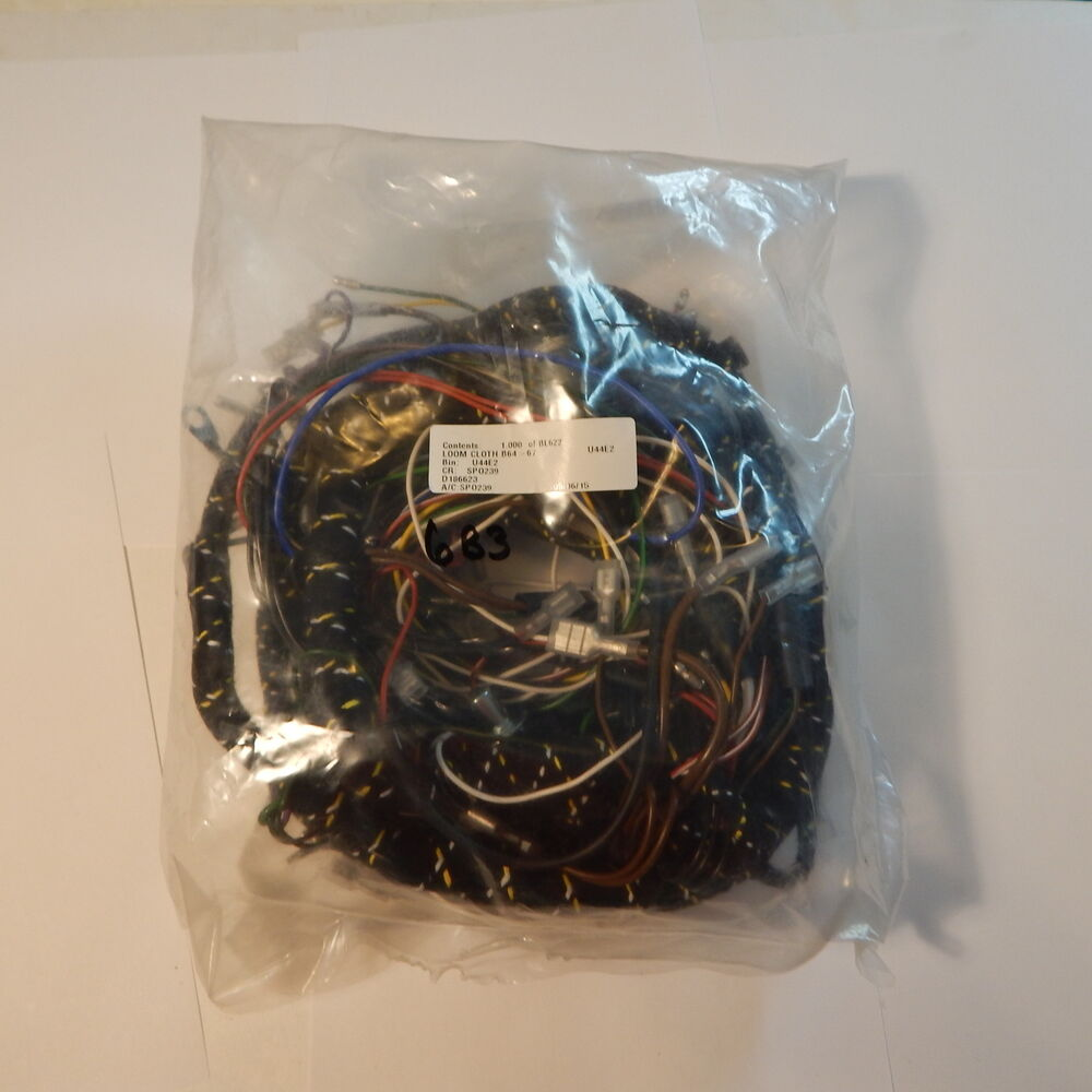 New Cloth Covered Main Wiring Harness For Mg Mgb 1965 1967 Made In 1978 Uk Bl622 Ebay