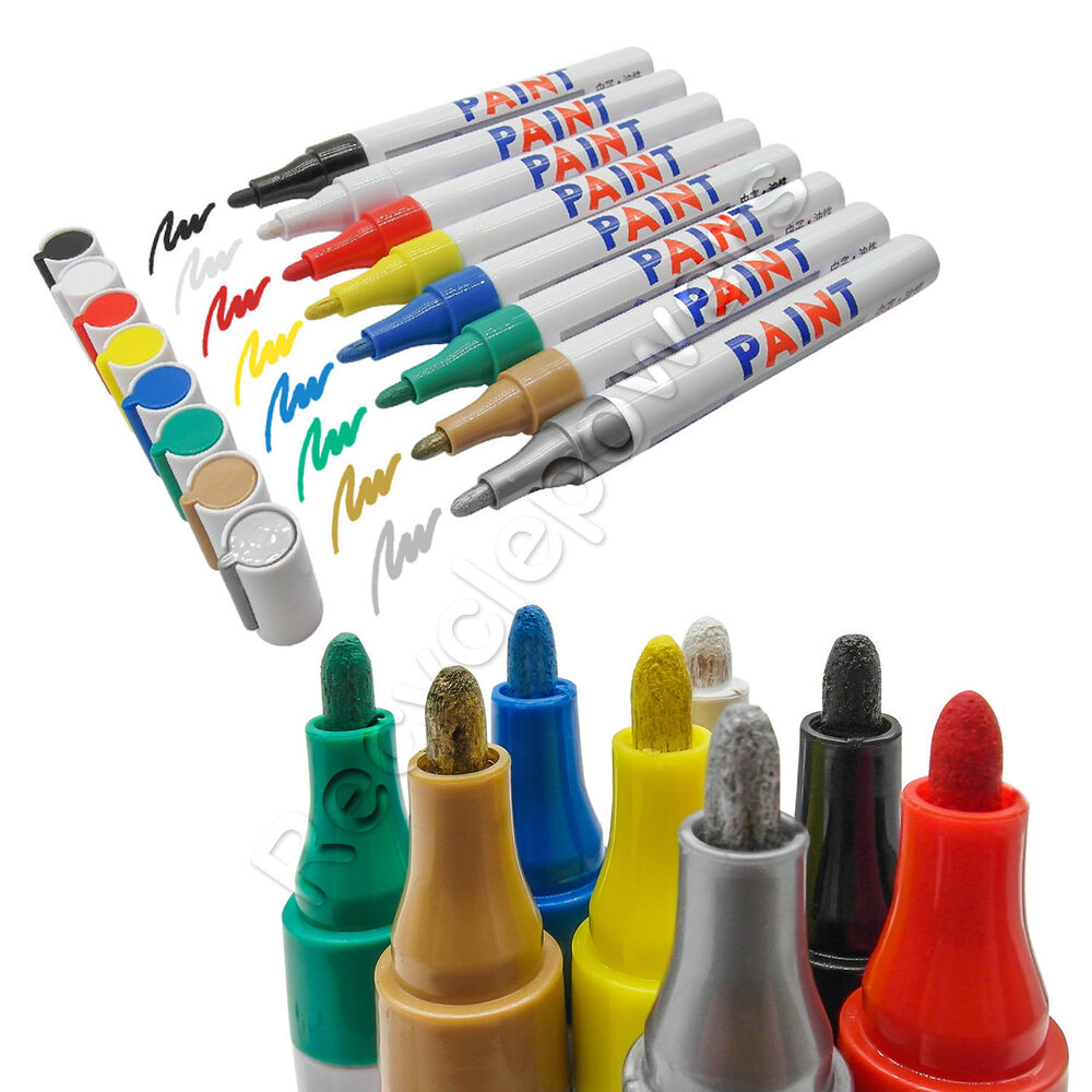 motorcycle car outdoor permanent truck tire metal oil paint marker  lot ebay