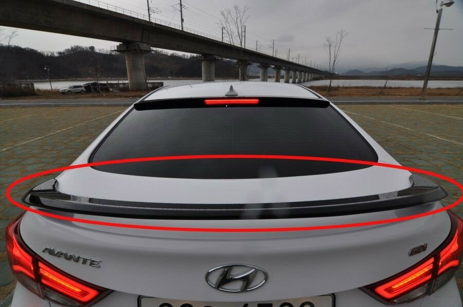 Rear Wing Spoiler Various Color For Hyundai Elantra