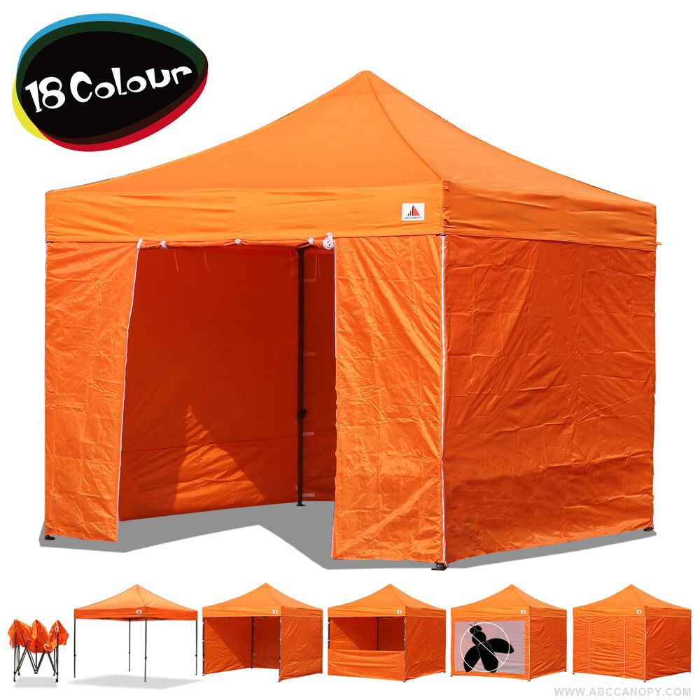 Abccanopy 10x10 pop up display canopy tent trade show for 10x10 craft show tent