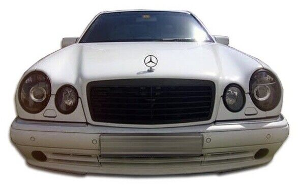 Mercedes w210 amg look front bumper body kit 1 pc for e for Mercedes benz front bumper